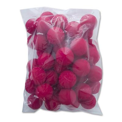 """1"""" Super Soft Sponge Ball (Pack 50 Schwammbälle rot)  by Gosh"""