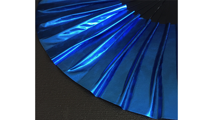 Appearing SnowStorming Fan V2 (Liquid Blue) by Victor Voitko (Gimmick and Online Instructions)