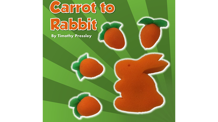 Sponge Carrot to Rabbit by Timothy Pressley and Goshman
