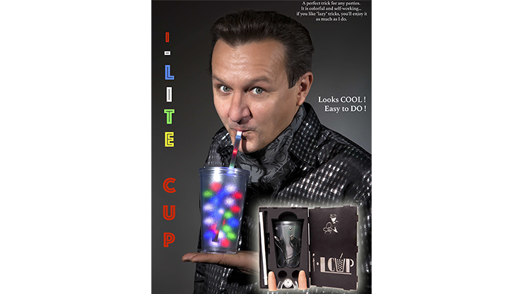 I-Lite Cup V2 by Victor Voitko (Gimmick and Online Instructions)