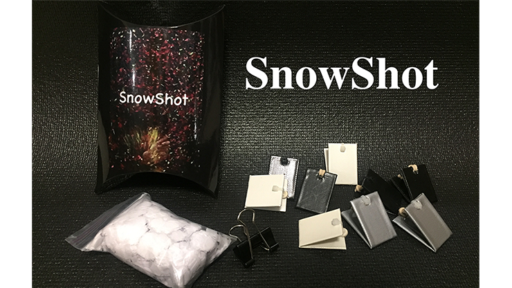 SnowShot (10 ct.) by Victor Voitko (Gimmick and Online Instructions)
