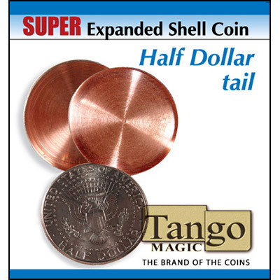 Super Expanded Shell Coin - Half Dollar Tail
