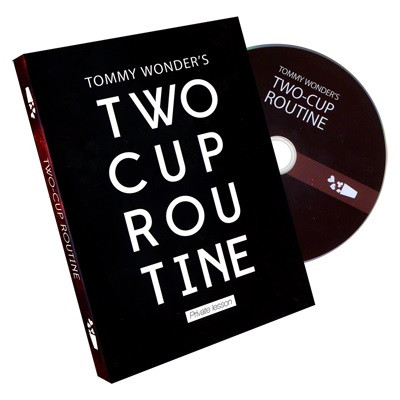 Tommy Wonder's 2 Cup Routine