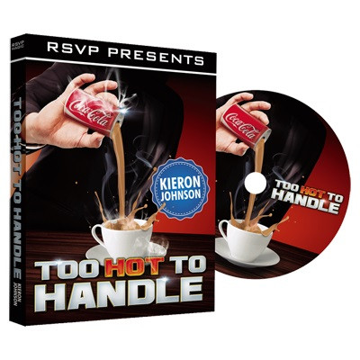 Too Hot to Handle (DVD and Gimmick) by Keiron Johnson and RSVP Magic