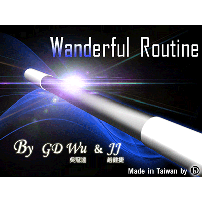 The Wanderful Routine by GD Wu & JJ (DVD)