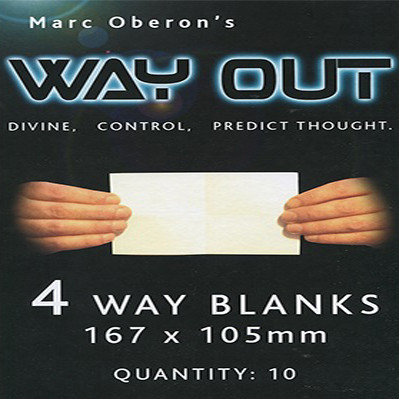 Refill for Way Out XII (4way) by Marc Oberon