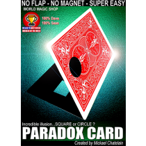 Paradox Card (Red) by Mickael Chatelain