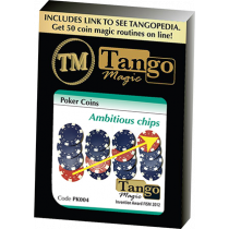 Ambitious Chip (Gimmick and Online Instructions) by Tango Magic