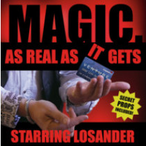 As real as it gets by Losander (DVD & Gimmick)