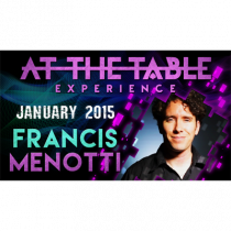 At the Table Live Lecture - Francis Menotti 01/14/2015 - video DOWNLOAD