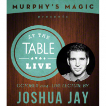 At the Table Live Lecture - Joshua Jay 10/8/2014 - video DOWNLOAD