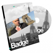 Badge (DVD and Gimmick) by Alexis De La Fuente and Sebastien Calbry