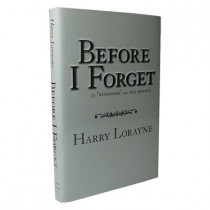 Before I Forget by Harry Lorayne