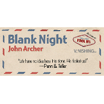 Blank Night (blau) by John Archer