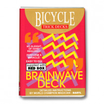 Brainwave Deck Bicycle (Red Case)