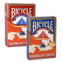 Bicycle Svengali Deck red and blue