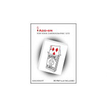 Cardiographic Lite RED CARD 5 of Diamonds Add-On by Martin Lewis