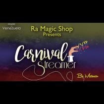 Carnival Streamer Halloween (Orange and Black) by Ra Magic