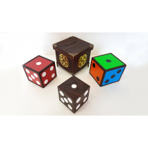 Color Changing Dice (4 Wooden Die)