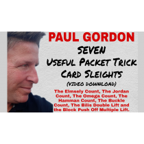 Seven Useful Packet Trick Card Sleights by Paul Gordon video DOWNLOAD