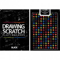 Drawing Scratch Playing Cards