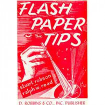 Flash Paper Tips - Pyro Papier Tips