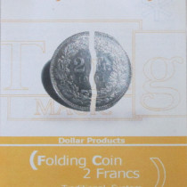 2 Franken Faltmünze (internal System) - Folding coin