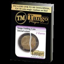 Tango Folding Coin 2 Euro Internal System by Tango-Trick (E0039 - Faltmünze
