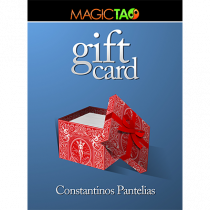 Gift Card Red (Gimmick and Online Instructions) by Constantinos Pantelias