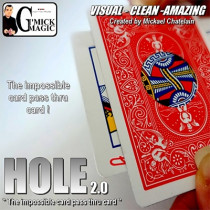 HOLE 2.0 (RED) by Mickael Chatelain