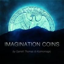 Imagination Coins by Garrett Thomas and Kozmomagic (EURO)