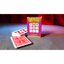 Invisible Deck - Bicycle  (RED)