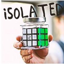 ISOLATED - Signed Rubiks Cube in Jar by Kieron Johnson