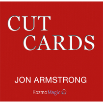 Jon Armstrong's Cut Cards (DVD and Gimmick)