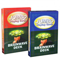 Jumbo Playing Cards - Brainwave