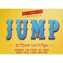 JUMP (Blue) by Jordan Victoria