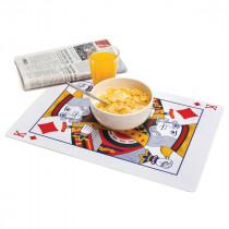 Pokerkarten Tischset
