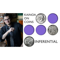 Kainoa on Coins - Inferential (DVD and Gimmicks)