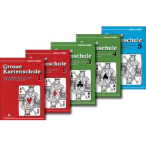Buchset: Grosse Kartenschule 1,2,3,4 & 5  von Roberto Giobbi