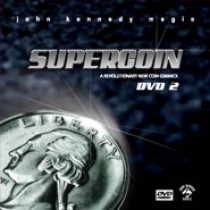 Super Coin by John Kennedy (DVD + USA Gimmick)