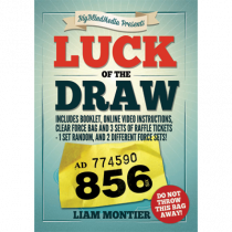 Luck of the Draw (Gimmick and Online Instructions) by Liam Montier