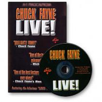 Chuck Fayne LIVE! - Chuck Fayne (DVD)
