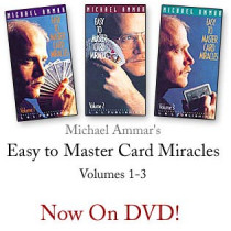 Easy to master card miracles by Michael Ammar Vol 3 (DVD)