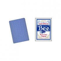Bee Poker Karten (blau)