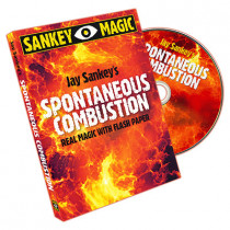 Spontaneous Combustion by Jay Sankey (DVD)