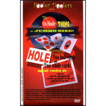 The (W)hole Thing (With Cards and DVD) by Fooler Dooler