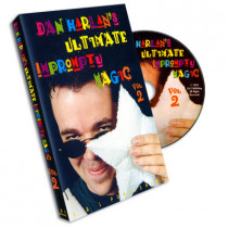 Ultimate Impromptu Magic Vol 2 by Dan Harlan (DVD)