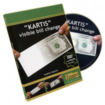 The Kartis Visible Bill Change (DVD and Gimmick) by Tango and Kartis