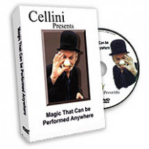 Magic That Can Be Performed Anywhere - Cellini (DVD)