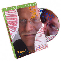 Easy to master card miracles by Michael Ammar Vol 9 (DVD)